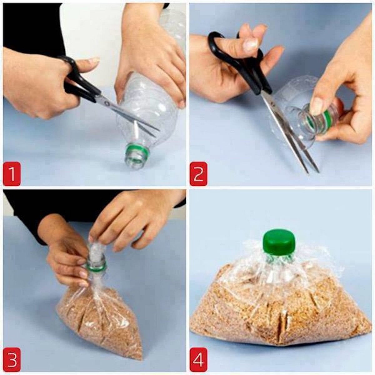 How to seal bags