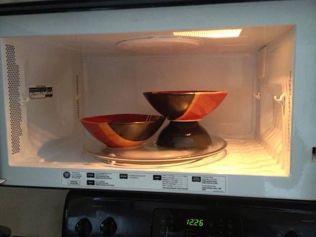 Double decker microwave